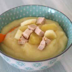 Grundrezept Mittagsbrei mit Fleisch