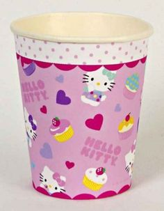 Hello Kitty 9oz Cups | 12ct - $3.90