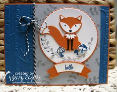 Giddy Stamper: Hello Foxy! ~ CCMC426, PP314