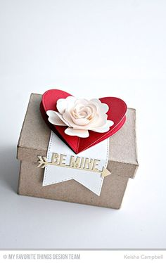 Heart STAX Die-namics, Large Hybrid Heirloom Rose Die-namics, Stitched Fishtail Flags STAX Die-namics, Straight to My Heart Die-namics - Keisha Campbell Valentine Treats, Love Valentines, Valentine Day Cards, Happy Hearts Day, Mft Stamps, Craft Box, Make A Gift, Love Cards, Love Gifts