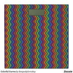 Colorful Curves Bathroom Scale