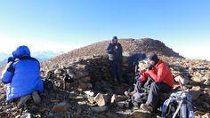 La pirca del Inca a 5200 metros de altura.