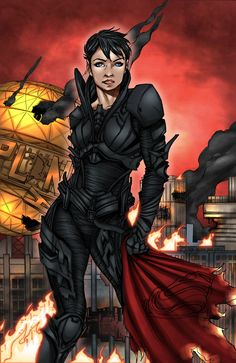 Faora by BoredToLife.deviantart.com on @deviantART