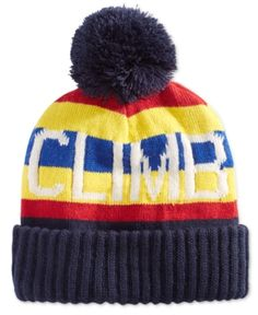 11561d060d3 Polo Ralph Lauren Men s Downhill Skier Beanie - Navy Climb Beanie Hats