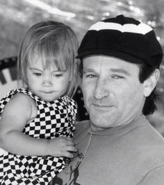 Robin Williams' daughter publishes a touching tribute to her Dad