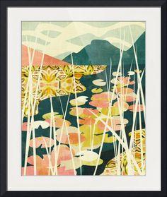 """Water Lilies"" by Cozamia Art, Canada //  // Imagekind.com photographers."