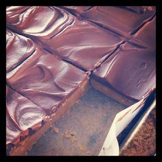 Nigella Lawson's Peanut Butter Squares