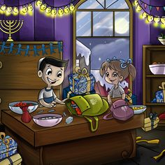 From the story of Funukkah book.