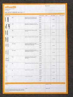 Olivetti Identity Concessionario/Dealer  コーディネーター:Hans Von Klier デザイン:Akira Kimura、Pierparide Vidari、Natalia Corbetta、Antonella Pirola