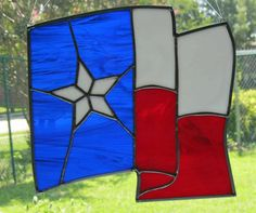 Stained Glass, etc., Handmade in Texas! by Nanantz Stained Glass Kits, Stained Glass Crafts, Stained Glass Designs, Stained Glass Panels, Stained Glass Patterns, Window Art, Window Glass, Texas Star, Glass Artwork