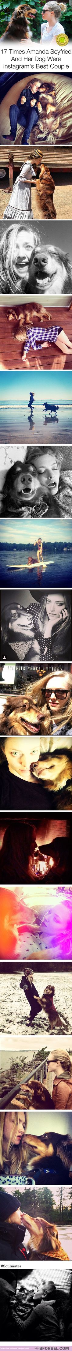 17 Times Amanda Seyfried And Her Dog Were Instagram's Best Couple…                                                                                                                                                                                 More