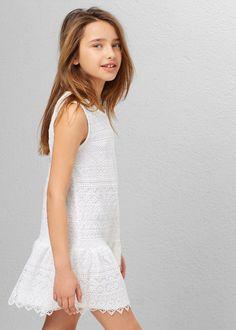 Vestido guipur -  Niños | OUTLET España