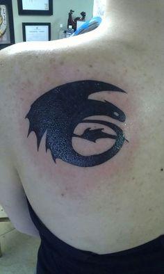 Toothless Tattoo @Jaymie Price