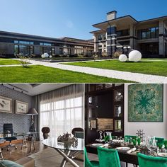 """Стильный дом в поселке """"Барвиха XXI"""" Рублево-Успенское ш.,8 км. Участок:40 соток Дом: 2 050 кв.м. Состояние: """"под ключ"""" с мебелью Стоимость:$16 500 000 ID:2994 #jqestate #rublevka #luxury #house #sales #comfort #life #hitech"""