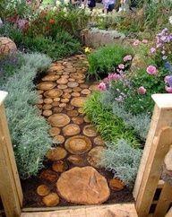 Creative Garden Path #food