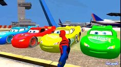 Lightning Mcqueen Colors Cars in Spiderman Cartoon Video for kids and More Nursery Rhymes Funny Video Clips, Funny Videos, Funny Movies, Comedy Movies, Spiderman Car, City Of Heroes, Music Channel, Cartoon Gifs, September 1