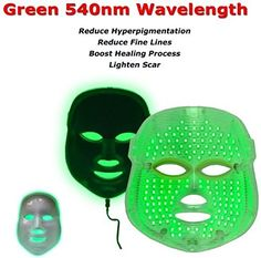 Perfect Amazon.com: Beauty Star LED Photon Therapy Red Blue Green Light Treatment  Facial Beauty Nice Design