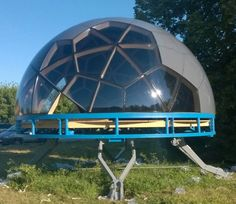 Geodesic Sphere Dome Homes Structure Architectural Engineering Dream Home Design