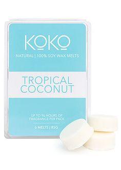 Koko Tropical Coconut Soy Wax Melts