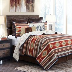 King Size Quilt, Queen Quilt, Western Comforter Sets, Southwestern Bedding, Southwestern Style, Twin Quilt, Quilt Sets, Bed Spreads, Comforters