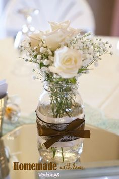 Table flowers | wedding decor | Pinterest | Table flowers, Florists ...