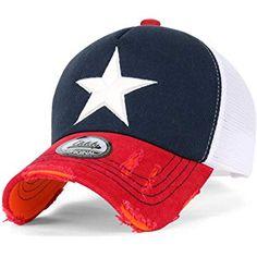 ililily Route 66 Wing Logo Patch Denim Mesh Back Snapback Hat Baseball Cap (ballcap-1081-2) at Amazon Men's Clothing store: