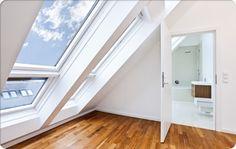 Dachflächenfenster sparen Platz