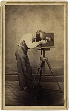 1860s Photographer Behind Camera Occupational Neat Inscription | eBay