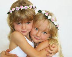 flower girl hair accessories - Google Search