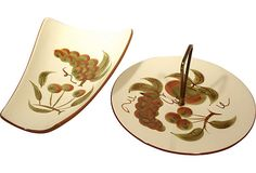 Stangl Platter and Tid bit Server  Perfect for Fall Entertaining ;)