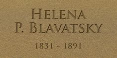 """Helena Blavatsky worked with The Hierarchy, changing the course of history and averting humanity from a return to the era of the Dark Ages. """"Theosophy is purely Divine Ethics. Helena Blavatsky, Theosophical Society, Early Modern Period, Dark Ages, Sage, Philosophy, Religion, Things To Think About, Teacher"""