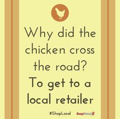 Even the chicken shops #local!