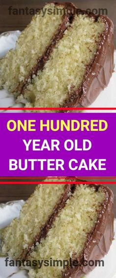 This Old Fashioned Butter Cake Recipe is moist and delicious, the epitome of buttery goodness! I haven't been baking much lately, but since the kids are back in school, I figured they needed a little sweetness Homemade Cake Recipes, Homemade Butter, Baking Recipes, Moist Cake Recipes, Air Fryer Cake Recipes, Easy Homemade Cake, Pizza Recipes, Köstliche Desserts, Delicious Desserts