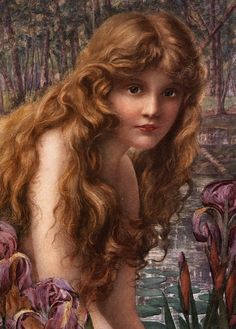 "loumargi: ""Henry Ryland - The Water Nymph. """