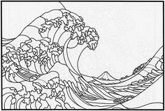 Dover Stained Glass Coloring Pages | ... is from page 24 of Japanese Designs , a stained glass pattern book