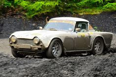 Mistreatment of a classic - Triumph TR4