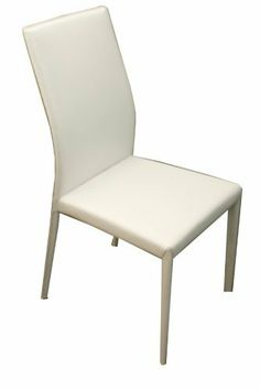 Casabianca Furniture Heritage Dining Chair, 17-Inch Width by 17-1/2-Inch Diameter by 17-5/8-Inch by 37-1/8-Inch Height, White by Casabianca Furniture. $136.61. Full regenerated leather. This item is hand made. Each chair comes fully assembled. The Heritage Dining Chair is fully made with reg. leather. It has a beautiful and rich look and seats very comfortable. This chair is available in white or brown reg. leather.