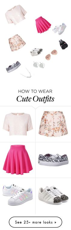 """Create an outfit"" by meawmeawgirl on Polyvore featuring True Decadence, STELLA McCARTNEY, Vans, adidas Originals and Ray-Ban"