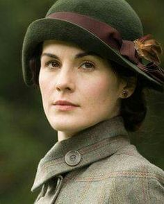 Michelle Dockery as Lady Mary Crawley in 'Downton Abbey'
