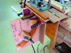 Three-legged Occasional Table | Popular Woodworking Magazine Mortise Jig, Drill Jig, Plunge Router, Table Saw Jigs, Baltic Birch Plywood, Woodworking Magazine, Popular Woodworking, Pinwheels, Concept
