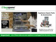 How to choose a replacement dishwasher cutlery basket, BuySpares 'how to videos'.