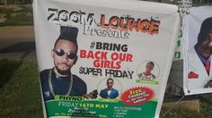 Lol #Bringbackourgirls now turns to party things (Photo)