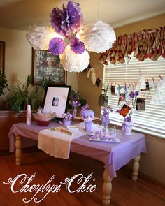 Cheylyn Chic: Loving Lavender Baby Shower