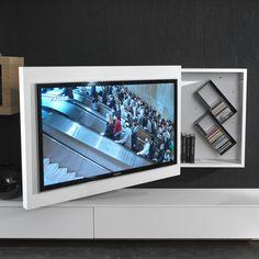 Rack TV-Möbel hängend, schwenkbar und zu öffnen - ARREDACLICK ...