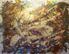 """Abstract12"" 48""x60"" mixed media on canvas."