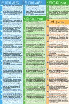 Big Draw Eindhoven Programma - deel 1 (van 2) Za. 28-09 tot zo.29-09. Plus activiteiten die de hele week duren.