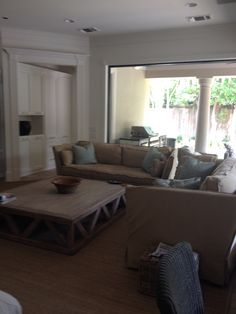 Family room -after