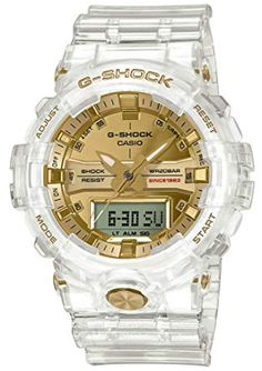 Check out the Casio G-Shock Glacier Gold GA835-7A available on StockX