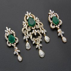 """Excellent """"buy diamond pendant set"""" detail is readily available on our site. Take a look and you wont be sorry you did. Gold Chain With Pendant, Diamond Pendant, Gold Pendant, Emerald Jewelry, Gold Jewelry, Diamond Jewelry, Diamond Bracelets, Silver Necklaces, Diamond Jhumkas"""