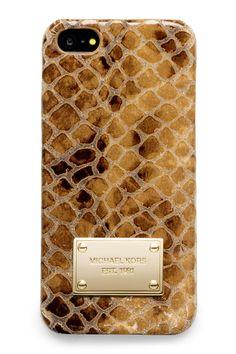 Gift Guide: The Ultimate Luxuries. Savannah- avant-garde phone casing from michael kors